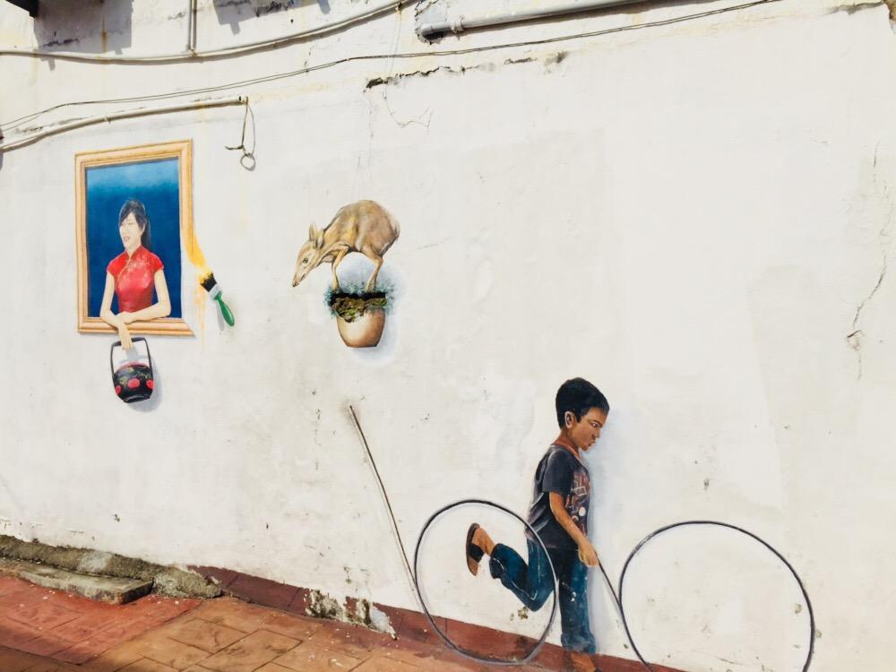 Melaka street art III